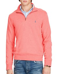 Polo Ralph Lauren Cotton Blend Jersey Pullover Rose Heather
