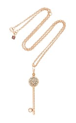 Selim Mouzannar Beirut Keys Pendant With Brown Diamond Gold