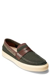 Cole Haan Pinch Weekend Lx Penny Loafer Deep Forest Green