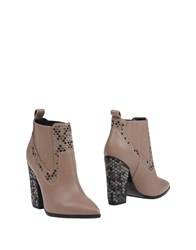 Grey Mer Ankle Boots Dove Grey
