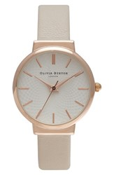 Women's Olivia Burton 'The Hackney' Leather Strap Watch 29Mm