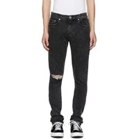 Adaptation Black Roxy Ripped Slim Jeans