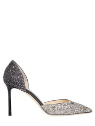 Jimmy Choo 85Mm Esther Glittered D'orsay Pumps