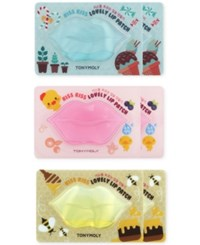 Tonymoly 6 Pc. Kiss Kiss Lovely Lip Patch Set No Color