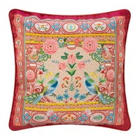 Pip Studio Indian Festival Cushion 40X40cm Red