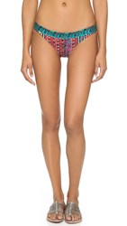 Tigerlily Basak Tiger Bikini Bottoms Thermal