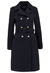 Miss Selfridge Classic Coat Navy Blue Dark Blue