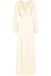 Temperley London Julianna Silk Satin Gown