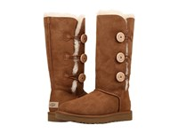 Ugg Bailey Button Triplet Ii Chestnut Women's Boots Brown