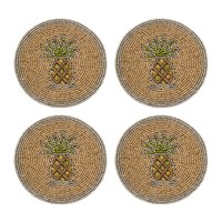 Joanna Buchanan Set Of 4 Coasters Pineapple
