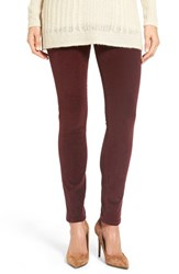 Jag Jeans Women's Nora Pull On Stretch Skinny Corduroy Pants Elderberry