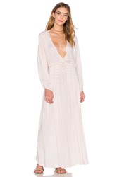 Indah Cedar Dolman Sleeve Maxi Dress Beige