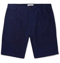 Universal Works Slub Cotton Shorts Indigo