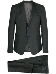 Giorgio Armani Classic Two Piece Suit Grey