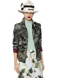Antonio Marras Printed Cotton Canvas Jacket