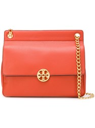 Tory Burch Chelsea Flap Bag Yellow And Orange