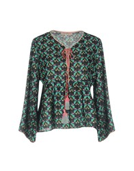 Traffic People Blouses Military Green
