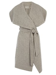 Coast Estonia Sleeveless Coat Silver