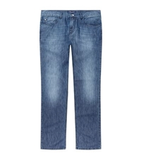 Paul And Shark Cotton Silk Straight Leg Jeans