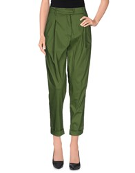 Liviana Conti Casual Pants Military Green