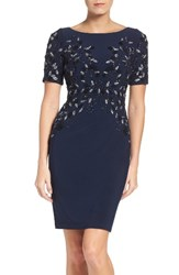 Adrianna Papell Women's Embellished Cocktail Dress