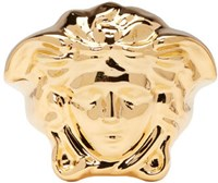 Versace Gold Large Medusa Ring