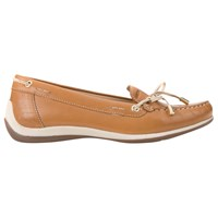 Geox Yuki Flat Loafers Biscuit Brown