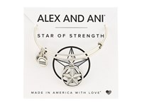 Alex And Ani Star Of Strength Rafaelian Silver Bracelet