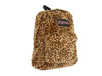 Jansport High Stakes Caramel Leopard Backpack Bags Animal Print