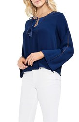 Vince Camuto Bell Sleeve Blouse High Tide
