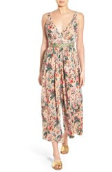 Women's Plenty By Tracy Reese Floral Crop Jumpsuit