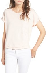 Joe's Jeans Women's Hunter Crop Tee Peony
