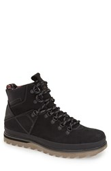 Men's Volcom 'Outlander' Lace Up Boot New Black Nubuck