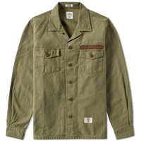 Bedwin And The Heartbreakers Cliff Military Shirt Green