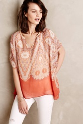 Maeve Tahitian Sunset Kaftan Orange