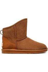 Australia Luxe Collective Shearling Ankle Boots Tan