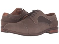 Florsheim Frisco Cap Toe Oxford Taupe Nubuck Men's Lace Up Cap Toe Shoes