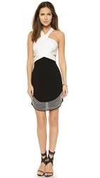 Bless'ed Are The Meek Undulate Dress Black Ivory