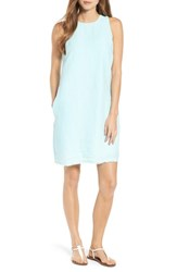 Tommy Bahama 'S Two Palms Frayed Trim Shift Dress