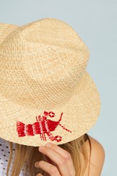 Anthropologie Lobster Fedora Neutral