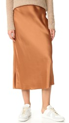 Helmut Lang Long Slip Skirt Mars