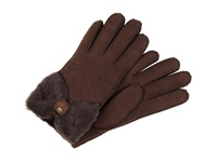 Ugg Classic Bow Shorty Chocolate Dress Gloves Brown