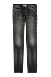 Marc By Marc Jacobs Jimmy Slim Straight Leg Jeans Grey