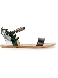 Golden Goose Deluxe Brand 'Annis' Flat Sandals Multicolour