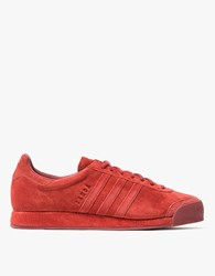 Adidas Samoa Vintage In Deep Red