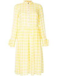Baum Und Pferdgarten Lemon Checked Dress Yellow