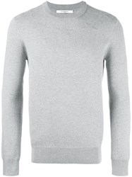 Givenchy Star Applique Sweatshirt Grey