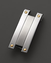 Dolan Bullock Stainless Steel And 18K Gold Money Clip No Color
