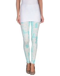 Calla Trousers Leggings Women Turquoise