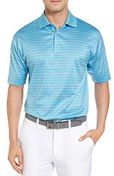 Bobby Jones Men's Boardwalk Stripe Golf Polo
